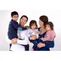 Séance photo Famille: 30 mn, 100 Photos HD brutes + 2 retouchées