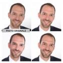 Retouches numériques du visage
