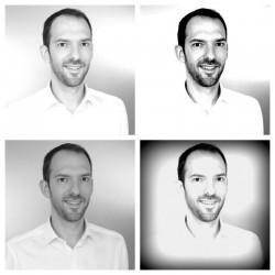 Conseils Linkedin photo en noir et blanc