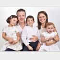 Séance Famille: 30 mn, 100 Photos HD brutes, 4 personnes + 2 retouchées