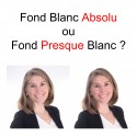 Photo LinkedIn CV fond blanc absolu