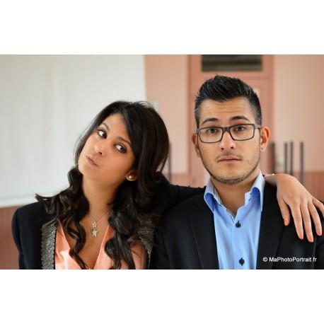 Portrait Duo