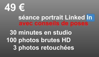 Séance Portrait CV LinkedIn