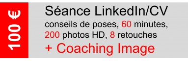 Séance Portrait CV LinkedIn + Coaching Image